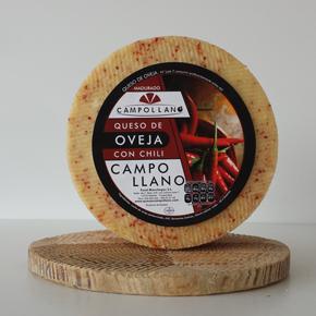 Queso de Oveja Semicurado con Chili